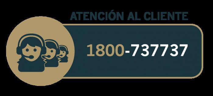 Atencion al Cliente 1800-737737